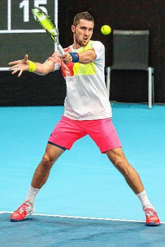 Mischa Zverev hat wieder für Basel gemeldet.   Foto: Meller Foto: Die Oberbadische
