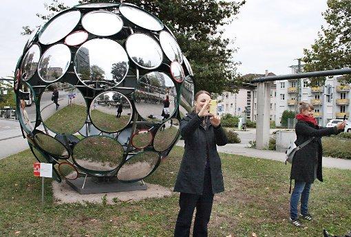 Der Selfie-Wettbewerb hat begonnen.    Foto: Markus Greiß Foto: Die Oberbadische