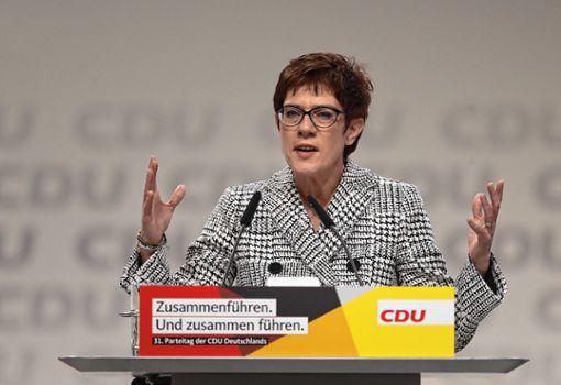 Die neue Vorsitzende der CDU: Annegret Kramp-Karrenbauer. Foto: zVg