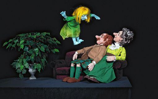 Eine Spukgeschichte läutet die neue Saison  des Basler Marionetten Theaters ein, das seinen 75. Geburtstag feiert.   Foto: zVg Foto: Die Oberbadische
