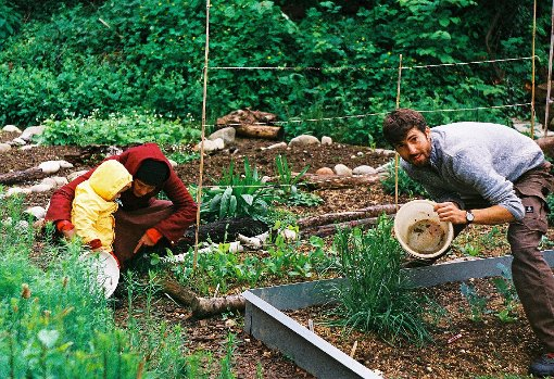 Die Arbeit basiert auf ehrenamtlichem Engagement.  Fotos (3): Jan Chudozilov, Urban Agriculture Netz Basel Foto: Die Oberbadische