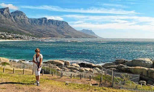 Hildegard Förstera genießt die beeindruckende Landschaft rund um Kapstadt.   Foto: zVg Foto: Die Oberbadische
