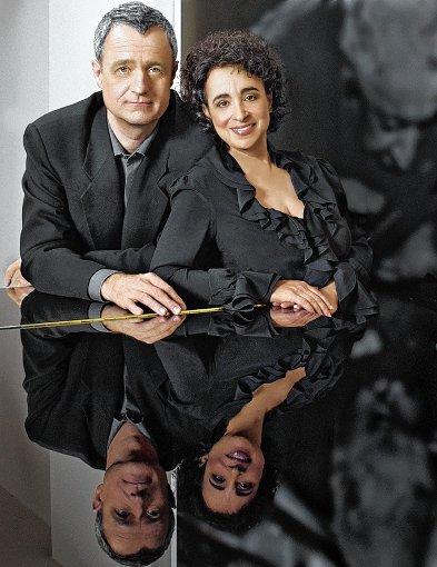 Das Pianistenpaar Yaara Tal und Andreas Groethuysen  Foto: zVg Foto: Weiler Zeitung