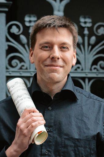 Festliche Orgelmusik spielt Christoph Bogon zum Abschluss der Marktmusik-Reihe in dieser Saison.   Foto: zVg Foto: Markgräfler Tagblatt