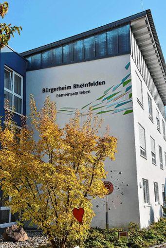 Das  Bürgerheim in  Rheinfelden    Foto: Monika Vollmar Foto: Die Oberbadische