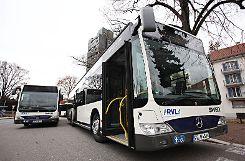 Der Stadtbusverkehr soll weiter optimiert werden.  Foto: Kristoff Meller Foto: mek