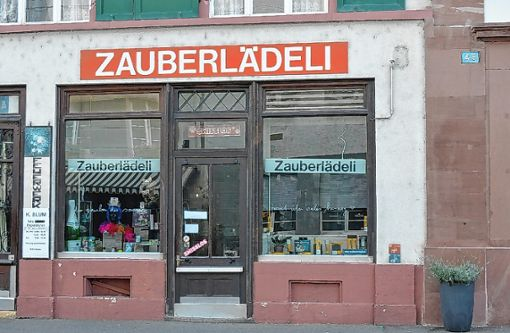"""Das """"Zauberlädeli"""" hat vorläufig zu.   Foto: Adrian Steineck Foto: Die Oberbadische"""