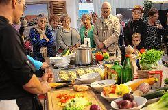 Während der Dreilandmesse auf dem Tutti-Kiesi-Areal wird es auch Kochshows geben.  Fotos: zVg Foto: Die Oberbadische