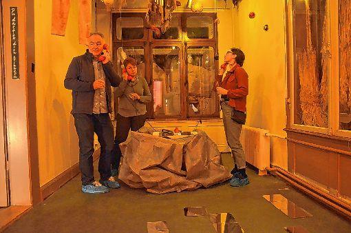 Im Erinnerungsraum erkennen treue Fans des Zyklus zahlreiche Requisiten der vorherigen Episoden.    Foto: Martina Proprenter Foto: Die Oberbadische