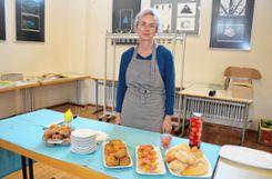"""Jutt-ah"": Foodbloggerin Jutta Hofmann weiß,  wie ressourcenschonend Mahlzeiten zubereitet werden können. Foto: Markgräfler Tagblatt"