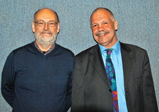 Das neue Führungsduo der FES: Direktor Wolfgang Zschämisch   (links) und Geschäftsführer Karl-Heinz Rudishauser     Foto: zVg Foto: Die Oberbadische