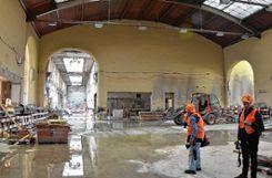 So zeigt sich derzeit der Zustand des Elsässersaals. Foto: Die Oberbadische