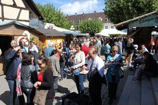 Impressionen vom Budenfest in Kandern Foto: Alexandra Günzschel