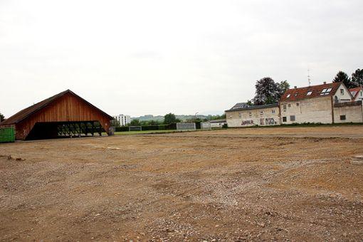 Am Sägischopf sollen die Wohncontainer stehen.  Foto: Feuchter Foto: Weiler Zeitung