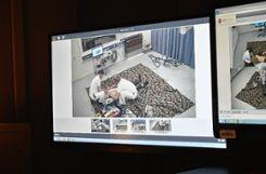 Stefan Gisin hat von seinem Sitz hinter den Monitoren aus alles im Griff und kann notfalls Hinweise geben. Foto: Die Oberbadische