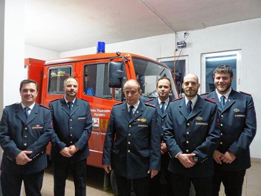 Mitglieder der Abteilung: (von links) Mario Leonhardt, Michael Gruss, Dietmar Wieber, Jochen Schöpflin, Thomas Mäder und Mathias Wieber. Foto: Anika Lenke