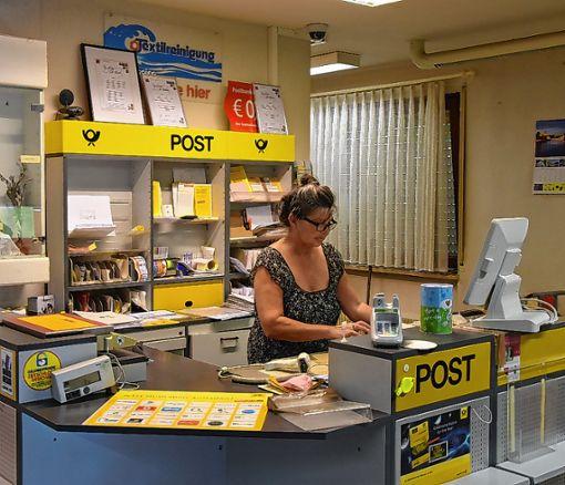 Der bisherigen Agentur-Pächterin Grazyna Pawlowski hat die Deutsche Post bereits gekündigt.  Foto: Monika Vollmar Foto: Die Oberbadische