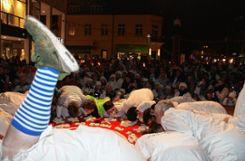Premiere: Der Dällerschlägg fand erstmals auf dem Senser Platz statt. Foto: Bernhard Konrad Foto: Die Oberbadische