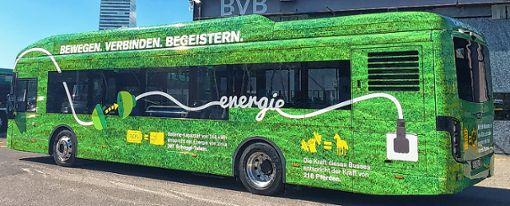 Dieser Bus kommt ab Montag zum Einsatz.   Foto: zVg/BVB Foto: Die Oberbadische