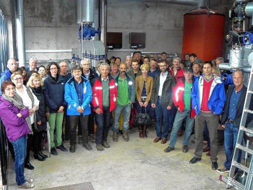 """Besuch aus dem Landratsamt erhielt die Genossenschaft """"Energie aus Bürgerhand"""".  Foto: zVg Foto: Markgräfler Tagblatt"""