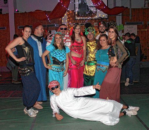Karneval beim Guggeball: Der Orient gab sich ein Stelldichein.   Foto: Reinhard Cremer Foto: Weiler Zeitung