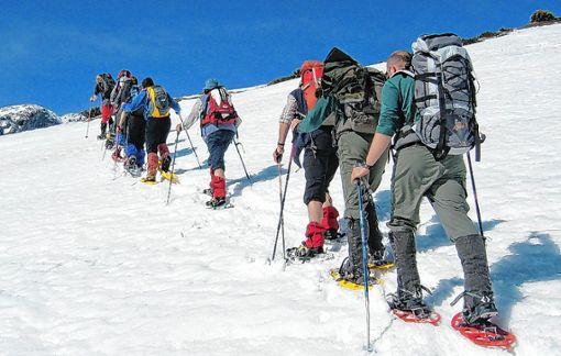 Im Bereich der Outdoor-Angebote ist der Trendsport Skischuhwandern ein florierendes Segment. Foto: Archiv