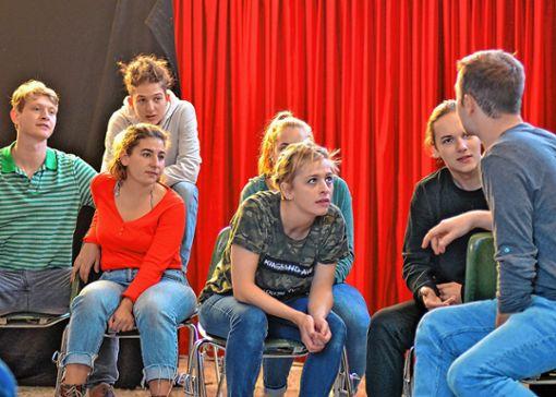Mit ihrem authentischen Schauspiel begeistern die Darsteller von Tempus Fugit jedes Jahr aufs Neue das junge Publikum.   Foto: zVg Foto: Weiler Zeitung