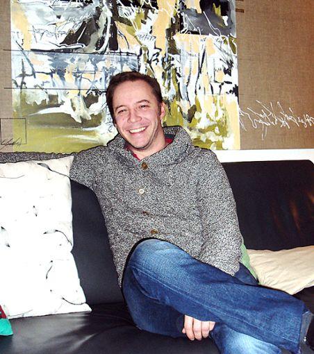 Simon Rösch aus Ötlingen:  Schauspieler und Theaterleiter   Foto: Gundula Weissenrieder Foto: Weiler Zeitung