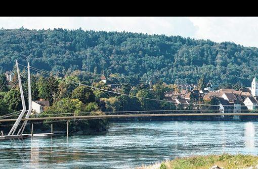 Der Bauausschuss empfiehlt dem Rheinfelder Gemeinderat einstimmig, die Ausschreibung für den neuen Rheinsteg aufzuheben. Foto: zVg/Rendermanufaktur