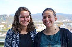 Isabel Gutmann (l.) und Katja Ehmer Foto: zVg/Schackert Foto: mek