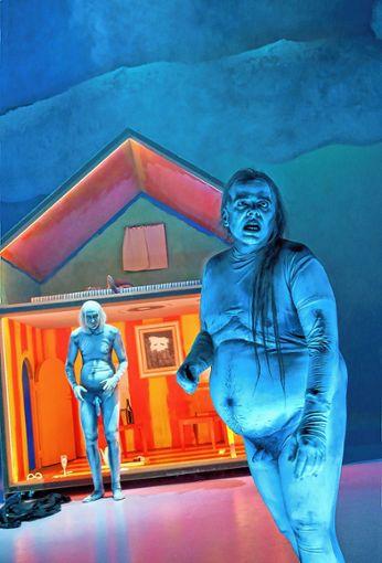 Im Riesen-Puppenhaus finden sich alle  Aspekte  des Lebens.   Foto: Birgit Hupfeld Foto: Die Oberbadische