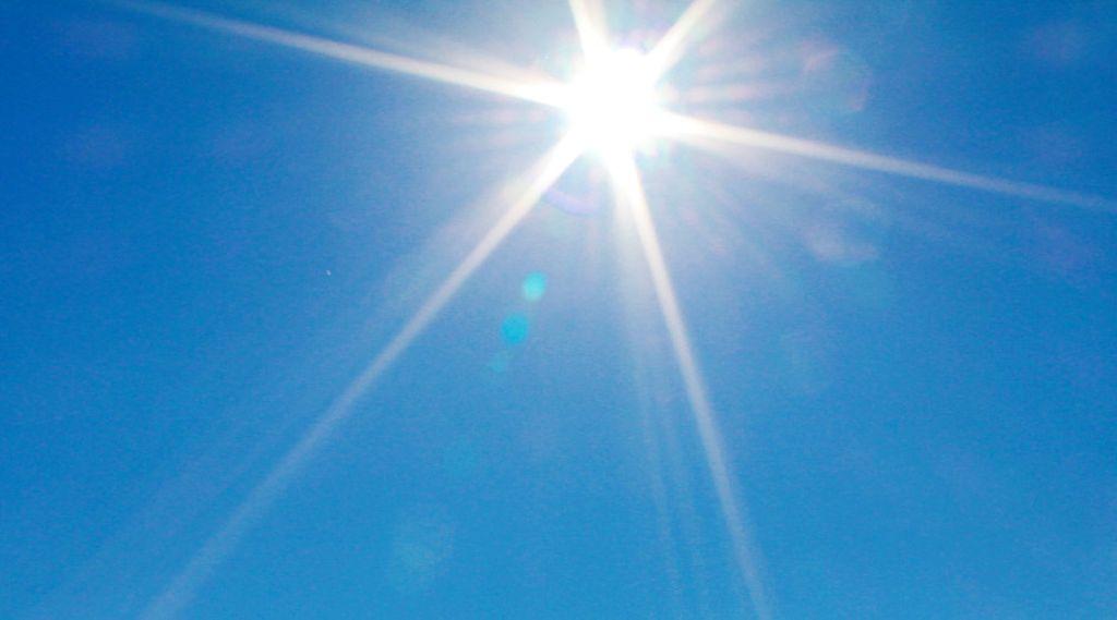 Sonne Blendet