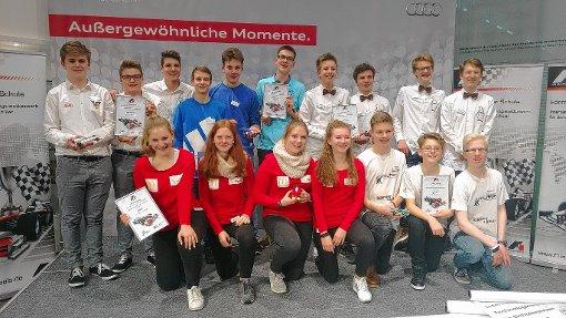 Erfolgreiche Lörracher   Foto: zVg Foto: Die Oberbadische