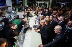 Bestens besucht: Zahlreiche Bürger nahmen die Einladung zum Neujahrsempfang von Stadt und Landkreis wahr. Foto: Kristoff Meller Foto: Die Oberbadische