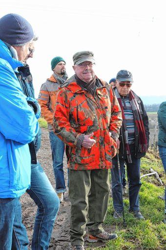 Jäger Hans Elmsheuer hatte einiges zu berichten. Foto: ag