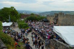 Impressionen von Jazz auf der Burg Foto: Veronika Zettler Foto: anl