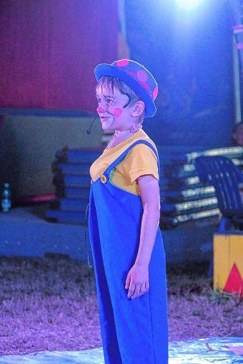Clown mit der Lizenz zum Lachsalven erzeugen. Foto: Markgräfler Tagblatt
