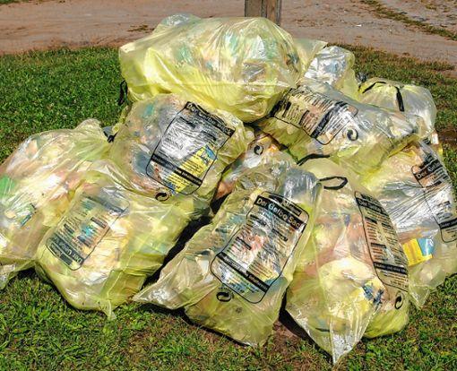 Derzeit können Bürger über das System der Gelben Säcke auf der Homepage der Abfallwirtschaft im Landkreis Lörrach bis Mitte März abstimmen. Foto: Archiv