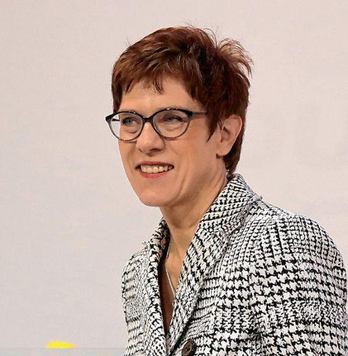 Konnte sich in der Stichwahl durchsetzen: Annegret Kramp-Karrenbauer ist neue CDU-Parteivorsitzende. Foto: Archiv