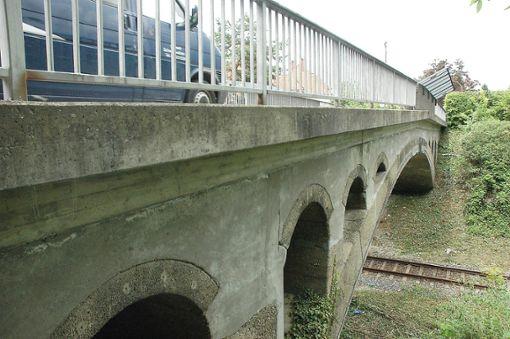 Die Brücke ist sanierungsbedürftig.    Foto: Marco Fraune Foto: Weiler Zeitung
