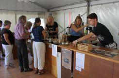 Impressionen vom Budenfest in Kandern Foto: ag