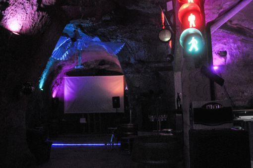 Blick in den Eiskeller. Hier finden derzeit im Jahr zehn Konzerte und öffentliche Veranstaltungen statt.   Foto: Regine Ounas-Kräusel Foto: Die Oberbadische