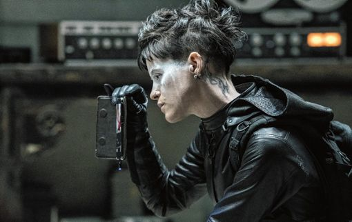 Claire Foy als Lisbeth Salander. Foto: zVg/Sony Pictures