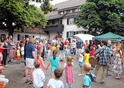 Viel Freude und Mitmachangebote bot das Sommerfest der Sing- und Musikschule.  Fotos: Daniela Buch Foto: Weiler Zeitung