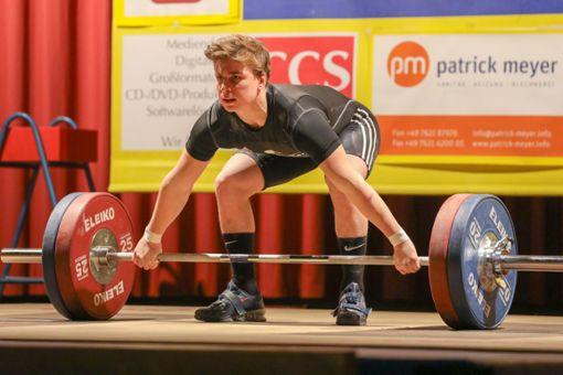 Moritz Huber bester Heber des Wettkampfs.   Foto: Grant Hubbs Foto: Die Oberbadische