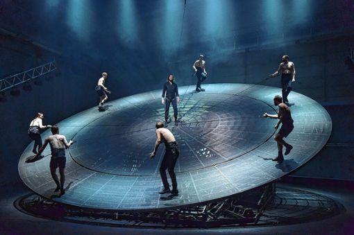 Die Inszenierung des Schauspiels Woyzeck war in der Spielzeit 2017/18 von großem Erfolg gekrönt. Foto: zVg/Sandra Then