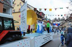 Der Fanfarenzug ist seit 40 Jahren eine Marke in Schönau.   Fotos: Peter Schwendele Foto: Markgräfler Tagblatt