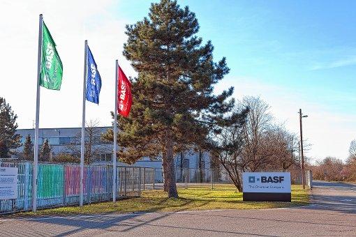 """Der Bebauungsplan """"Rheinvorland-West"""" umfasst das Areal der BASF in Grenzach.  Foto: zVg Foto: Die Oberbadische"""
