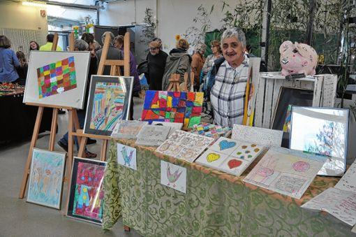 Viel Zuspruch hatte der Frühlingsmarkt im Marienheim.  21 Aussteller waren präsent.   Foto: Schütz Foto: Weiler Zeitung