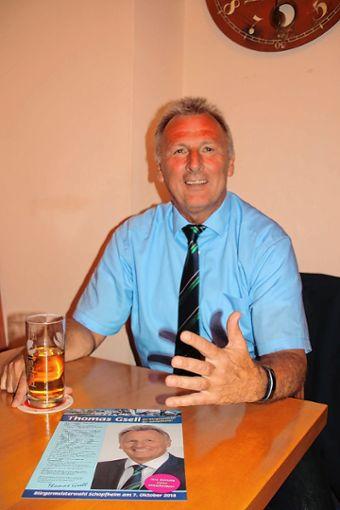 Will den Wechsel vom Stadtrat zum Bürgermeister bewerkstelligen: Thomas Gsell. Foto: Markgräfler Tagblatt